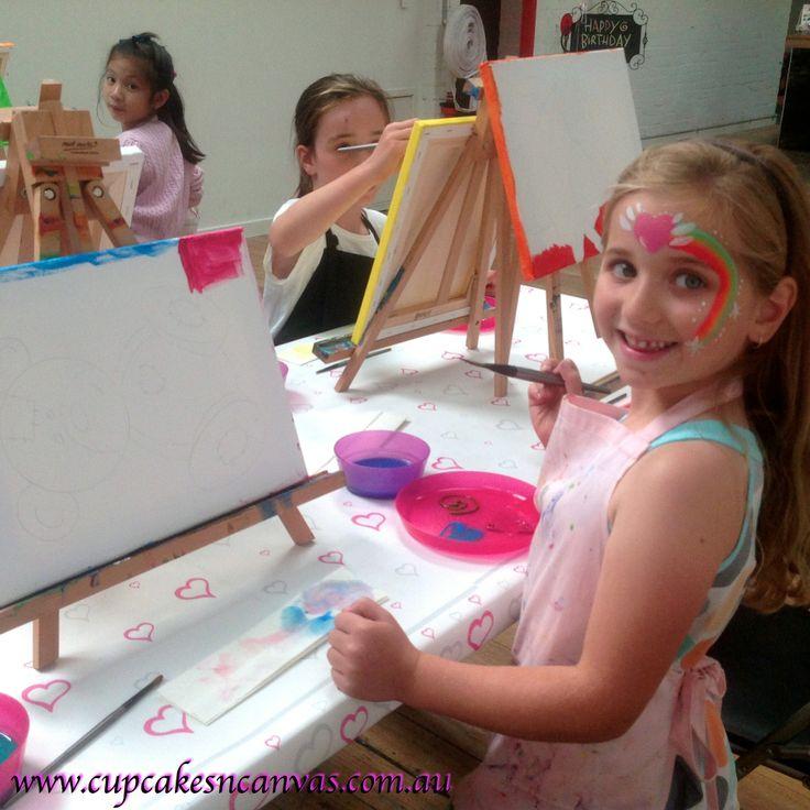 Best Kids Parties in Moonee Ponds :)    http://www.cocktailsandcanvas.com.au/kids-paint-party.aspx #kidsparties