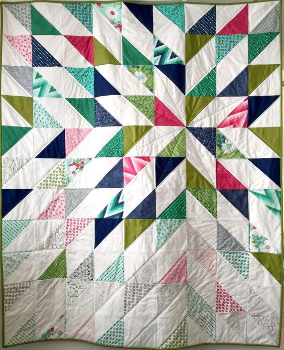 die besten 25 patchwork muster dreiecke ideen auf pinterest quilt pattern dreieck quilt. Black Bedroom Furniture Sets. Home Design Ideas
