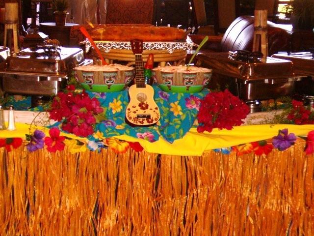 Tropical Party Food Menu