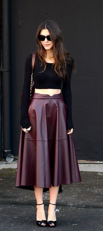 9 best images about Skirts on Pinterest | Mesh, Skirts and Leather