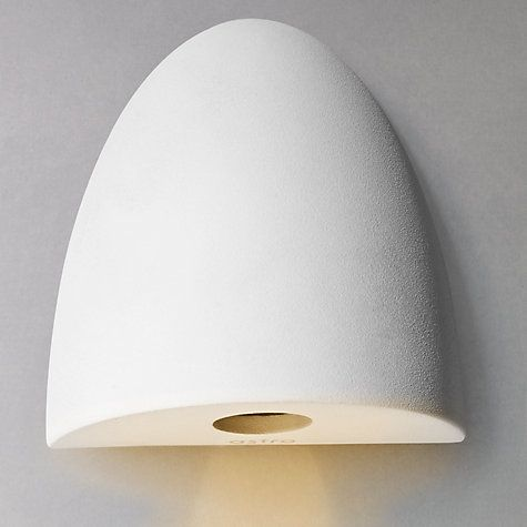 Buy Astro Orpheus LED Curved Wall Light, White Online at johnlewis.com