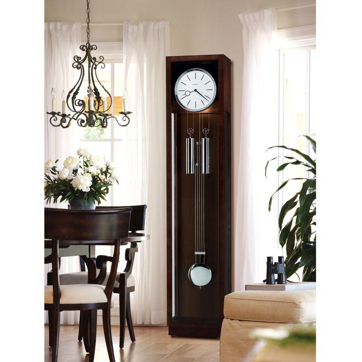 Minimalist Homeoffice Design: Vintage Inspired Modern Grandfather Clock Modern Office