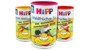 """Foodwatch verleiht Negativ-Preis: """"Goldener Windbeutel"""" für Hipp-Kindertees - News - FOCUS Online - Nachrichten"""