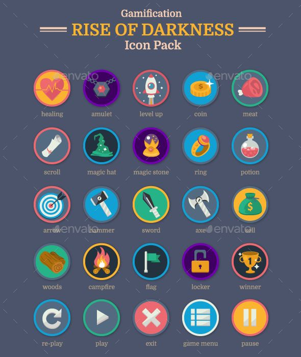 Rise of Darkness Icon set