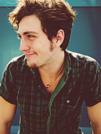 Aaron Johnson.  (i hate your face so much also favorite picture from favorite photo shoot)