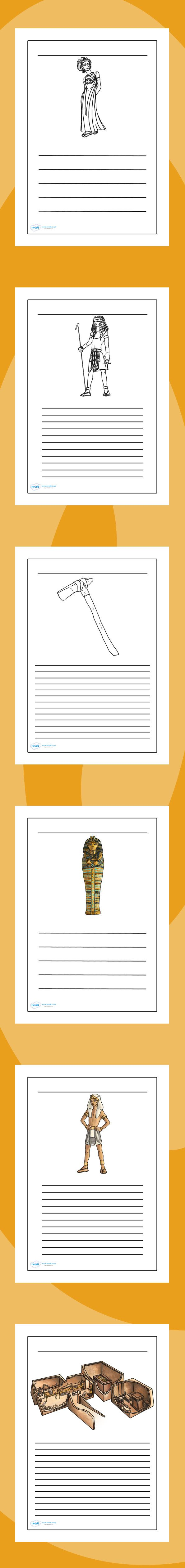 KS2 Ancient Egypt Writing Frames