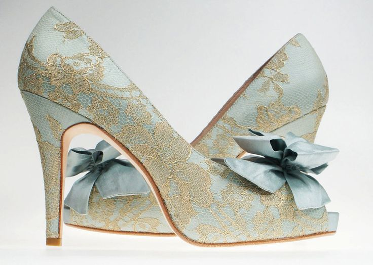 Light Blue Wedding Shoes As The Recommended Ones