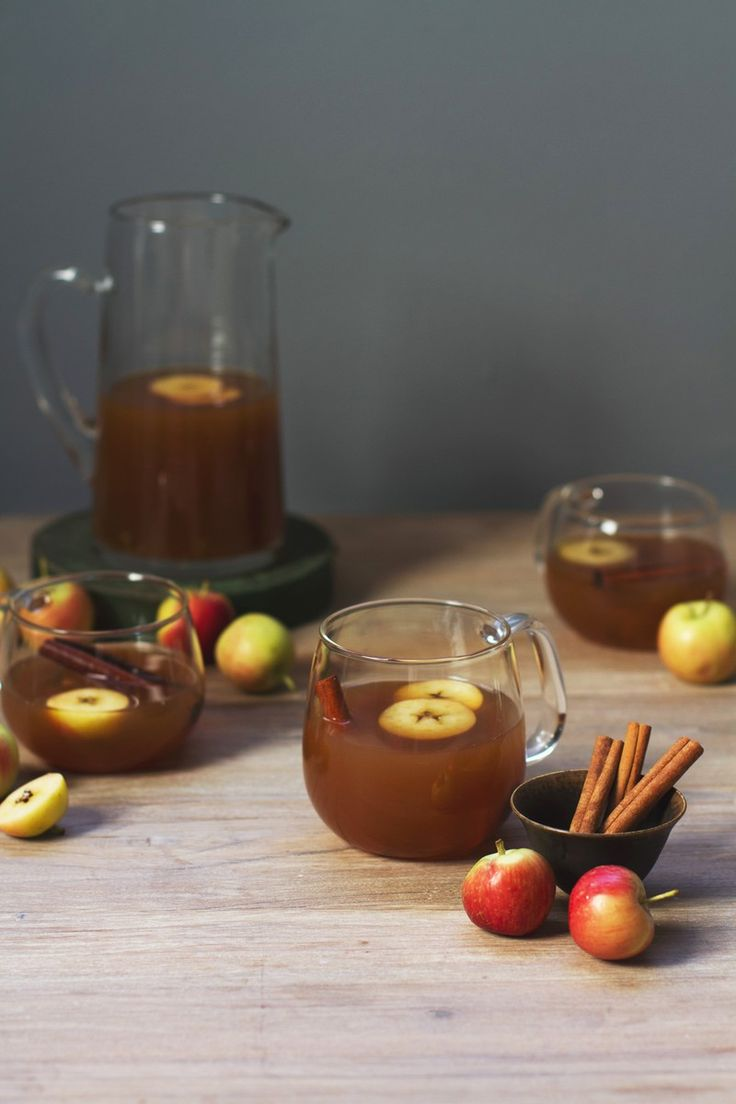 Smoked Whiskey Apple Cider Cocktail  | http://saltandwind.com