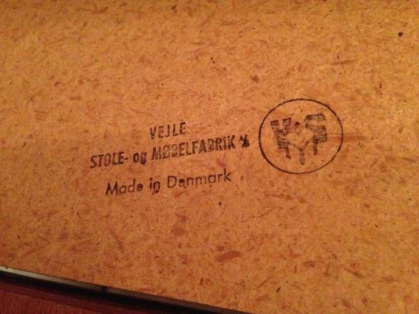 Vejle Stole Go Mobelfabrik A S Made In Denmark Mid