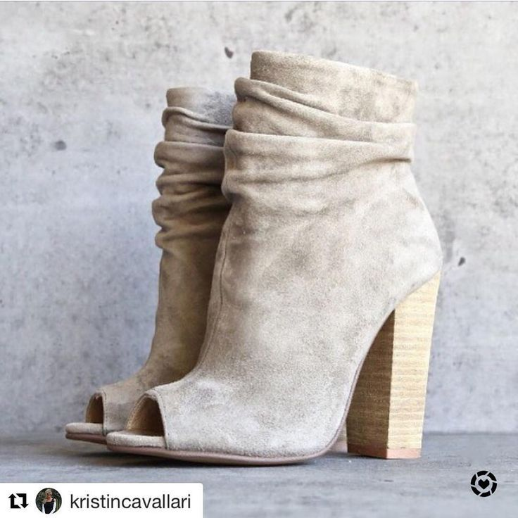 Kristin Cavallari for Chinese Laundry peep toe booties #LTKShoeCrush  Shop this pic via screenshot with the new LIKEtoKNOW.it app http://liketk.it/2qUWY #liketkit @liketoknow.it
