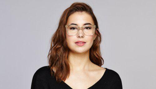 Square Fashion Eyeglasses Frames - Jack & Norma