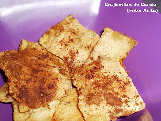 Crujientitos Dukan de Tofu y  Canela
