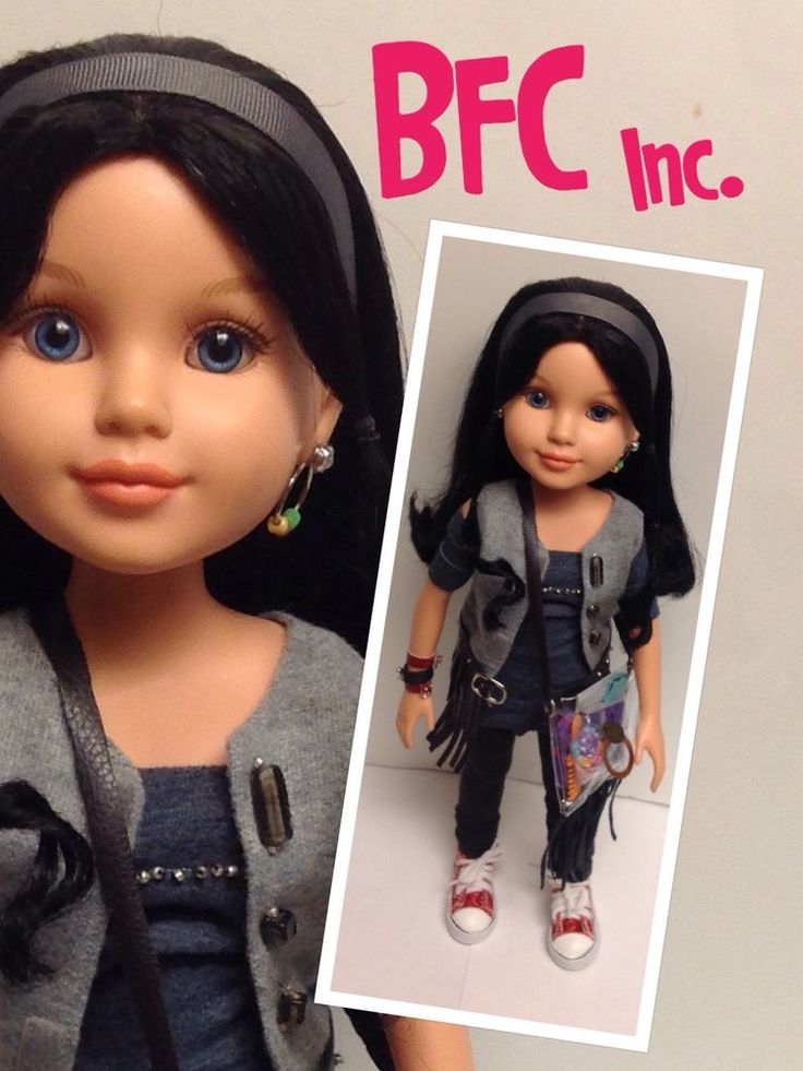 "MGA -Best Friends Club Doll Customized  ~~BFC INK /Urban Gear- 18""  Doll . #Dolls"