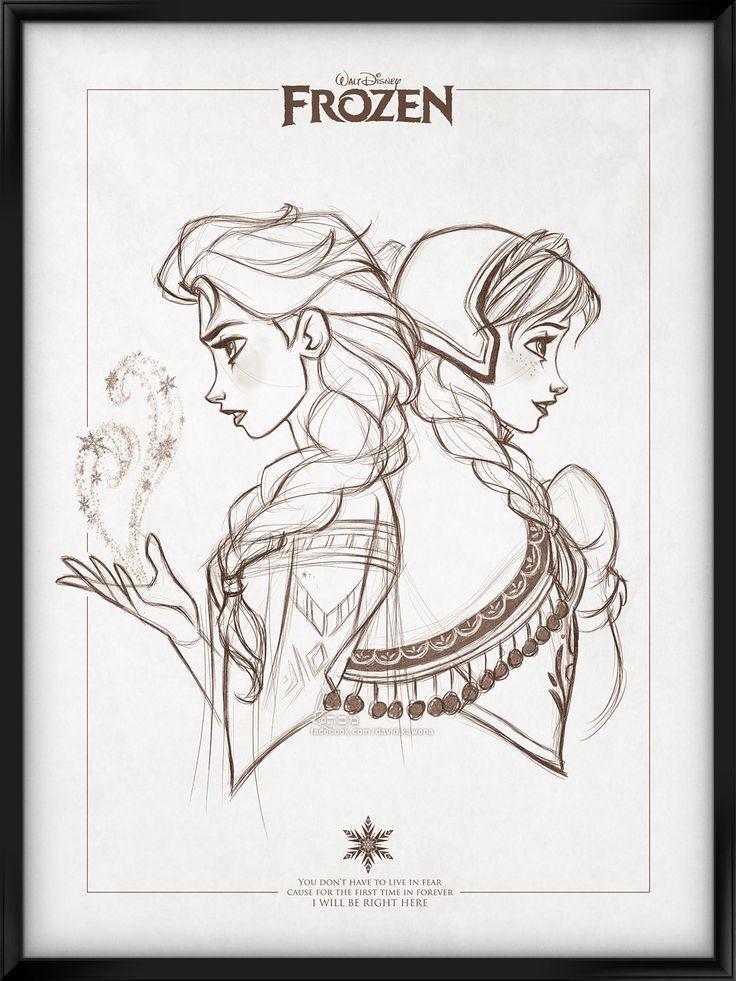 Walt+Disney's+Signature+Collection+-+FROZEN+by+davidkawena.deviantart.com+on+@DeviantArt