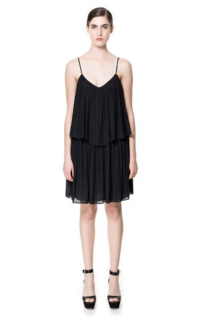 Image 1 of FRILLY DRESS from Zara