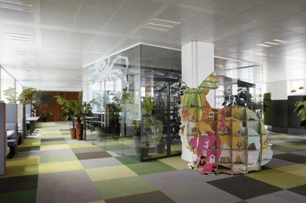L'agenzia JWT Amsterdam diventa un museo pop art