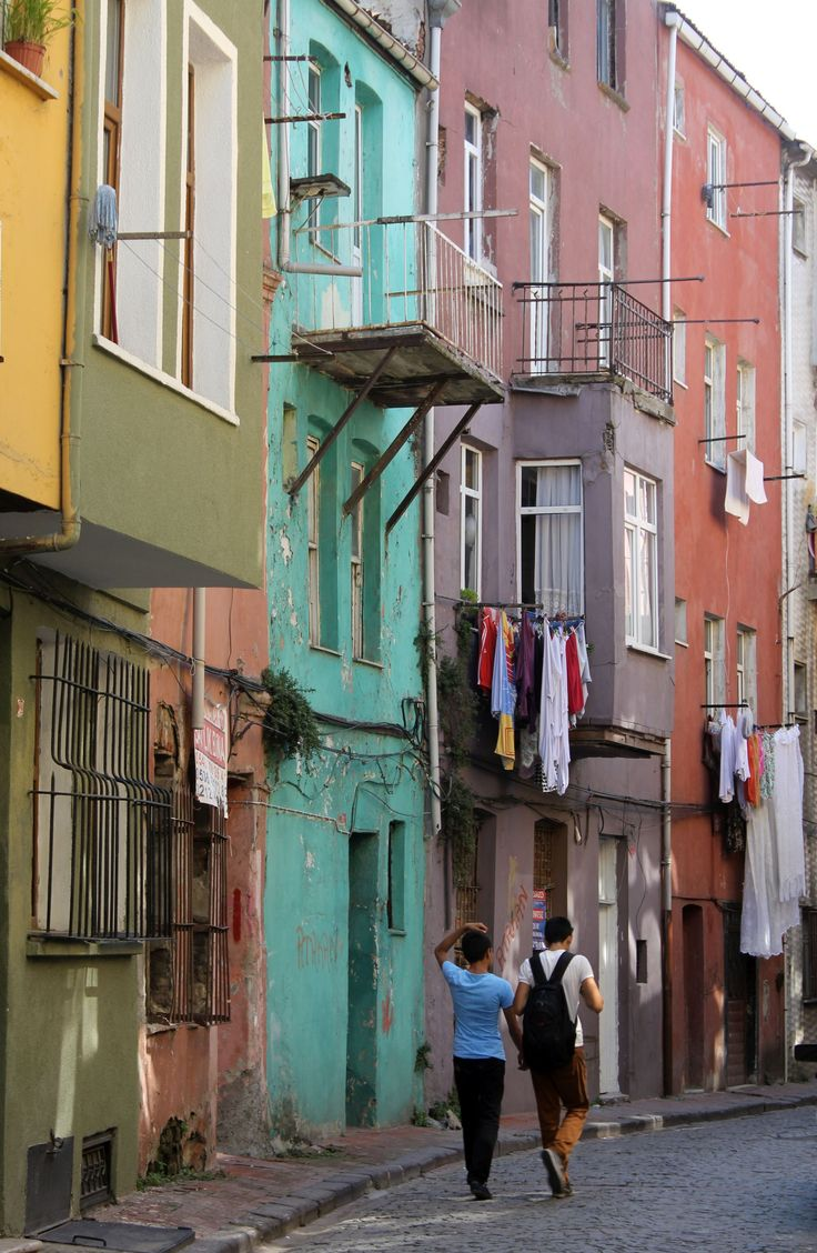 the colorful houses of Balat. Walking tour through Balat and Fener with Istanbul Privé https://www.facebook.com/IstanbulPrive