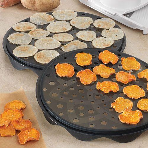 Microwave Chip Maker Set - Shop   Pampered Chef US Site