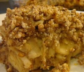 Recipe Gluten Free Apple Crumble by Angela de Gunst - Recipe of category Desserts & sweets