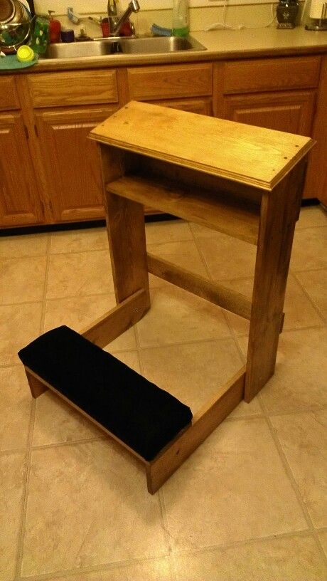 Prayer Bench That Folds Up Stuff I 39 Ve Built Pinterest Prayer And Benches