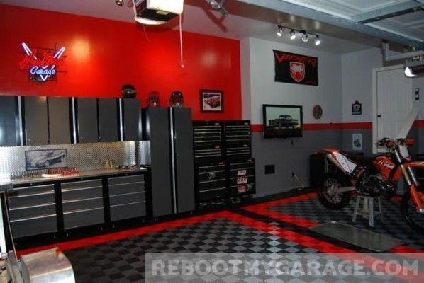 109 Amazing Garage Floor Tile Designs Garage Makeover Garage