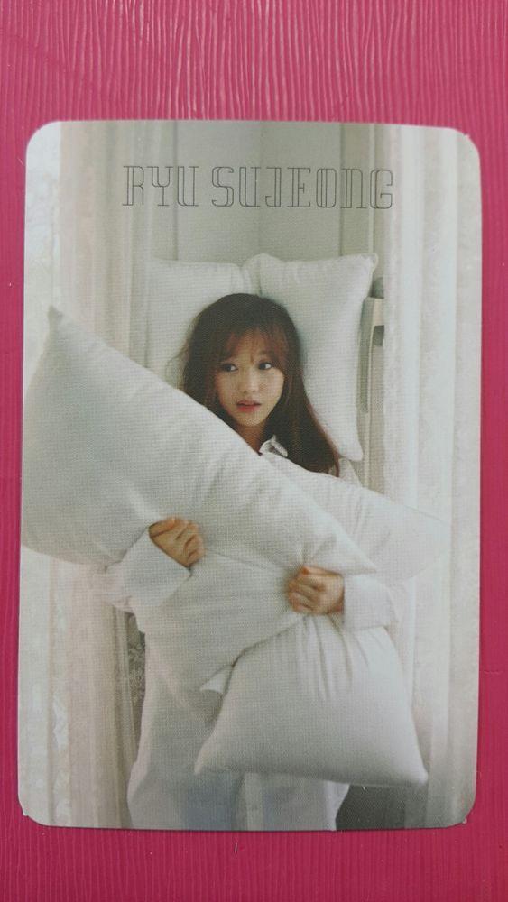 LOVELYZ RYU SUJEONG Official Photocard LOVELYZ8 1st Album Ah Choo RYU SU JEONG