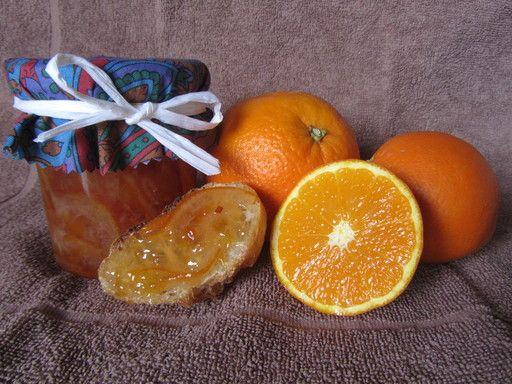 Recette de Confiture d'oranges douces facile