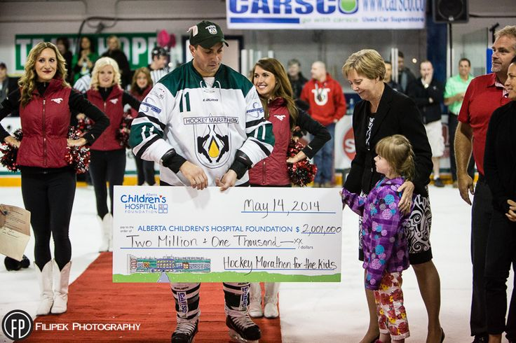 George's Cream Is Proud To Be A Part Of The 2014 Hockey Marathon For The Kids #blog