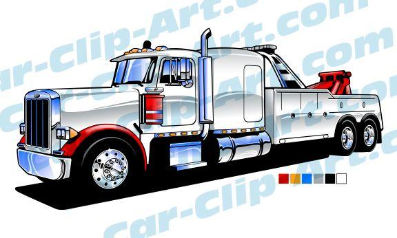 Peterbilt Heavy Duty Tow Truck Art Tow Truck Trucks Peterbilt