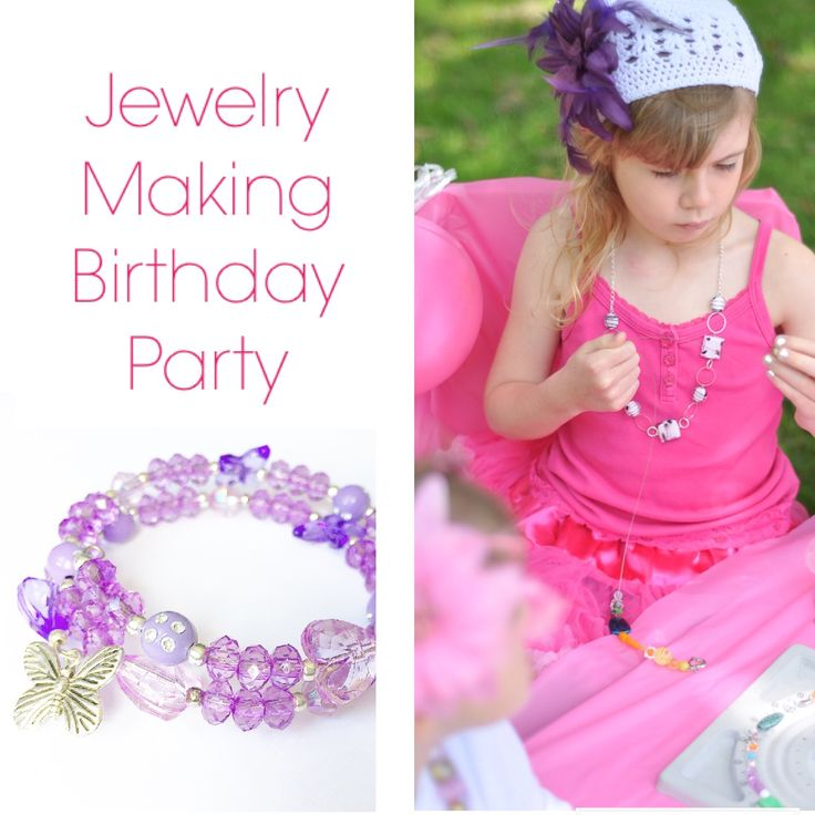164 best jewelry making birthday parties 5 and up images for Jewelry making kit for 4 year old
