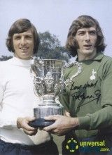 Pat Jennings & Martin Peters