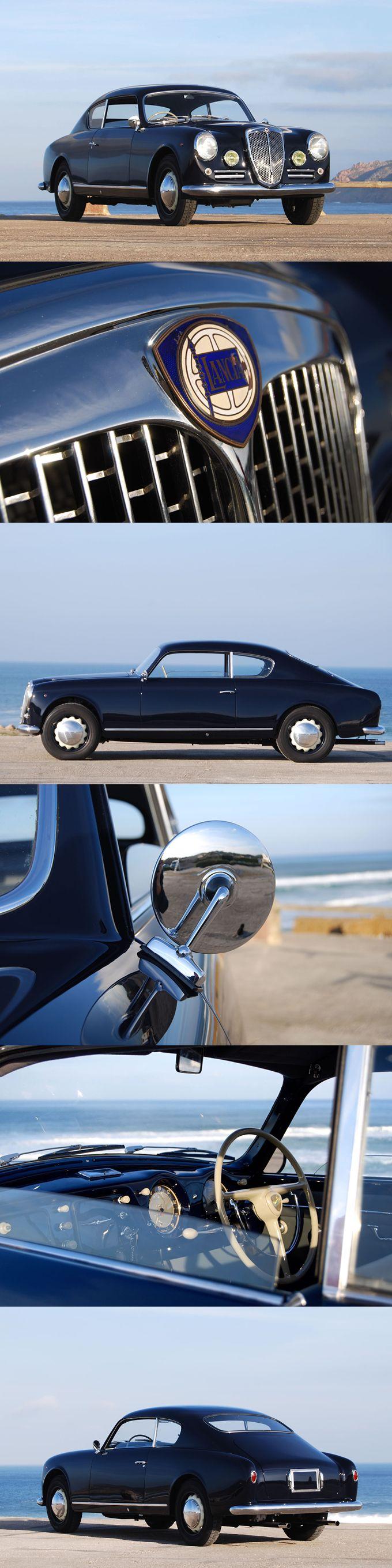1952 Lancia Aurelia GT / B20 / 80hp 2.0l V6 / Ghia / black / Italy / 17--337