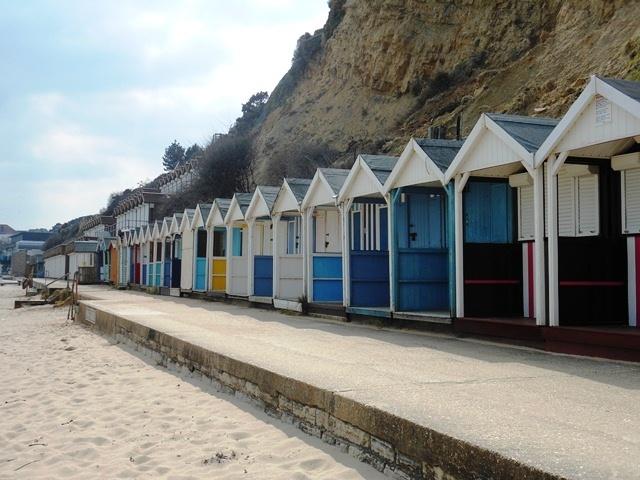 Swanage, Beach Huts