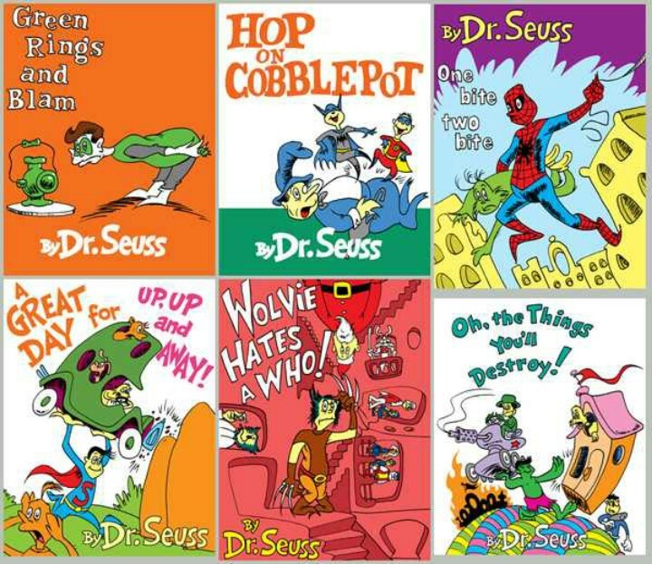 Mejores 82 imágenes de Deranged Dr. Seuss en Pinterest | Libros para ...