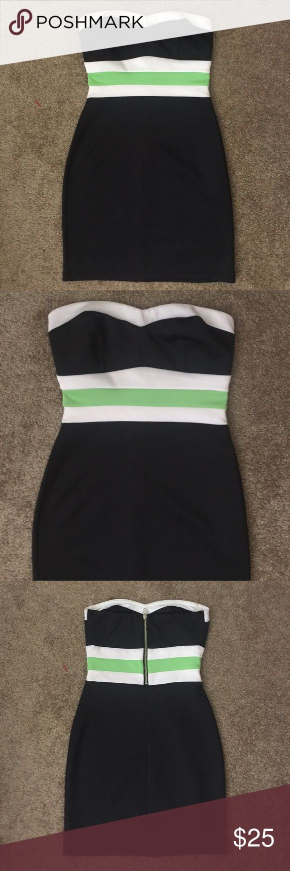"Wet Seal Tube Top Dress Size Small Length 24"". Worn once. Still brand new.🎈Make an offer 🎈accepts most offers Wet Seal Dresses Strapless"