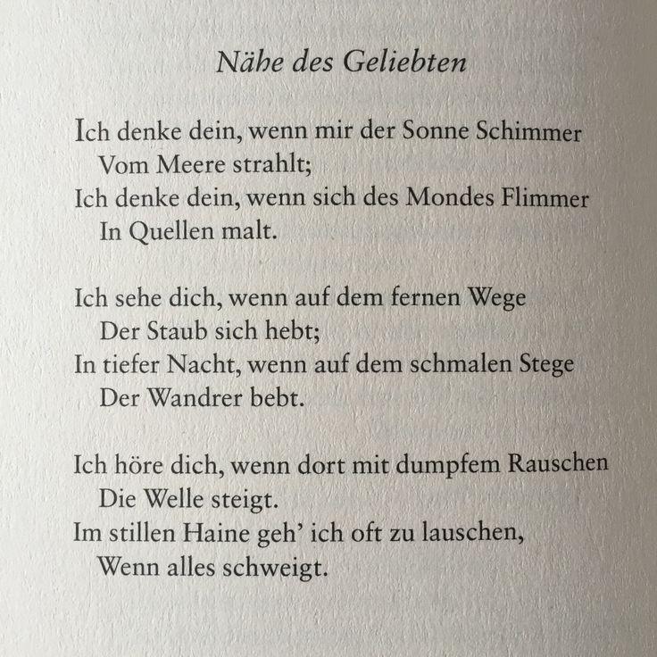 deutsche lyrik von damals und heute   liebesgedicht