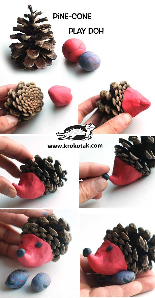 krokotak | Pinecone Hedgehogs