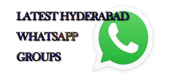 Latest Hyderabad WhatsApp Group Links | Whatsapp Groups in