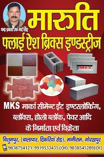 Ranjeet Pratap Singh ( Chhotu singh): maruti flyash bricks induteries