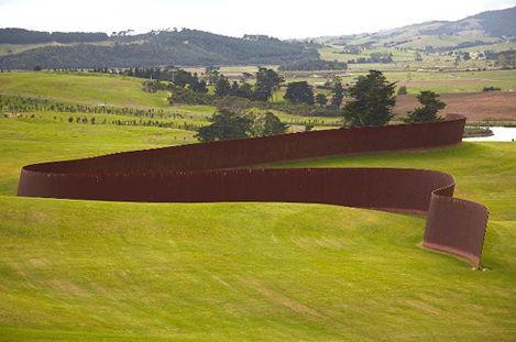 Celebrate Curves - by Richard Serra