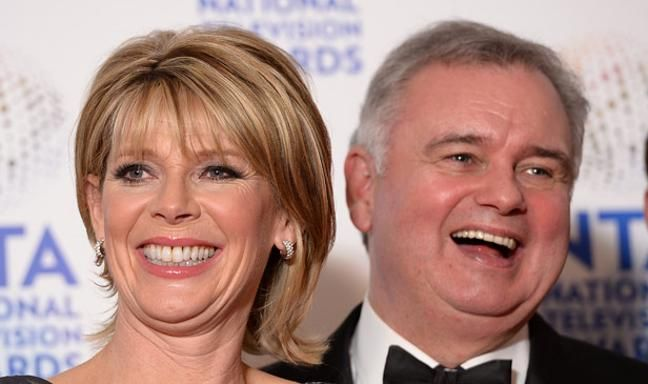"""2016 - Rumour - Eamonn and Ruth - Eamonn and Ruth appear to have replaced Richard and Judy as the regular Strictly lineup rumour - we can't possibly imagine why so many people want to see Eamonn trying his hand at a jive.  Apparently Ruth is a huge fan of the show and they've been on the wishlist for three years, but due to Eamonn's hip problems they've not been able to sign up. Since Eamonn's successful surgery, the duo are now back on the table as a possibility.  """"Ruth absolutely loves Str"""