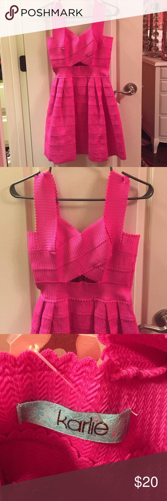 Karlie Pink Bandage Dress Great stretch and looks adorable on! Karlie Dresses