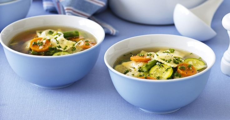 This springtime soup is made in one pot, so not only is it easy to make, it's quick to clean up, too.