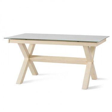 Target Point e i suoi mobili sono unici. Il legno sposa l'acciaio in un'armonia di forme e colori. Anche questa in vendita su Arguto.