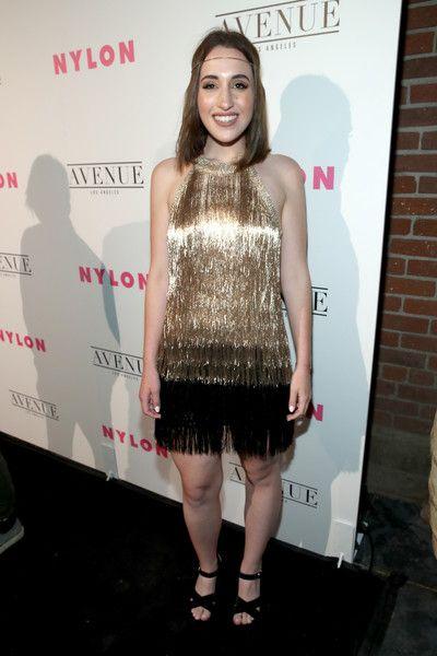 Actress Harley Quinn Smith at the NYLON Young Hollywood Party.