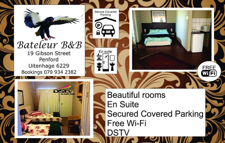 Bed and Breakfast - Bateleur B