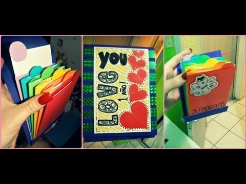 ALBUM DE SOBRES + TARJETAS ♥(tutorial) - YouTube