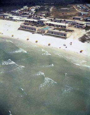 The Sea Lodge Motel Back in the Good Old Days Panama City Beach Florida