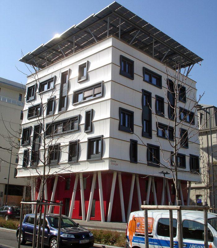 New area of de barracks deBonne in Grenoble, Rhone Alpes_ South France