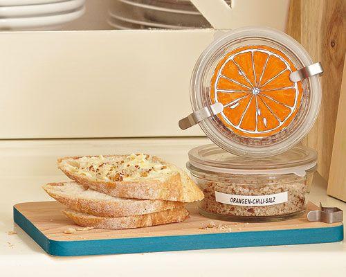 Orangen-Chili-Salz- super einfach und schell zubereitet ;-)